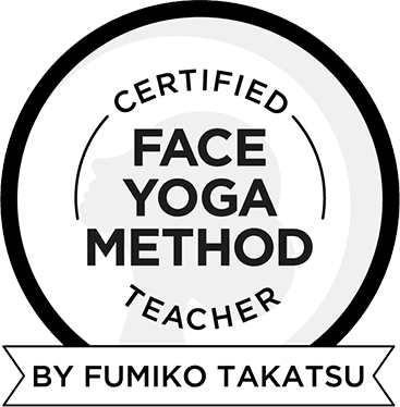Face Yoga Method certified teacher badge
