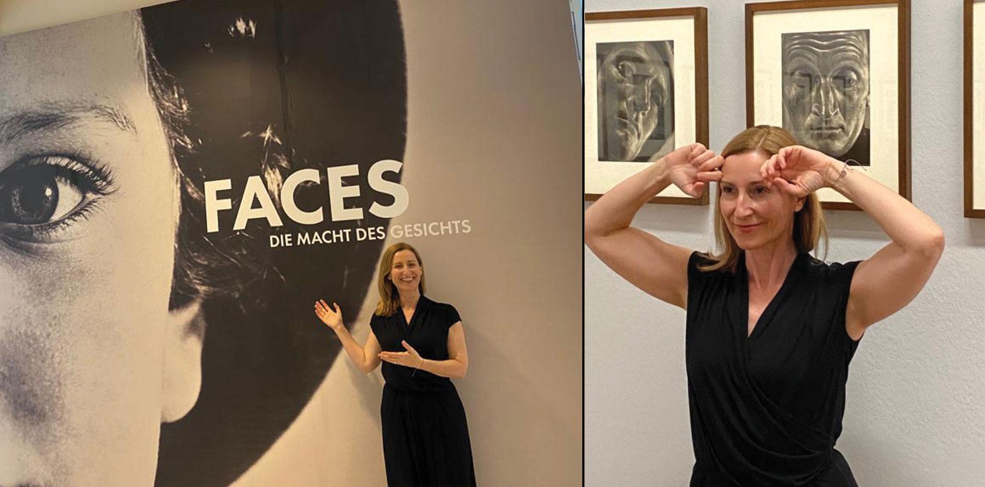 Face Yoga trifft Albertina